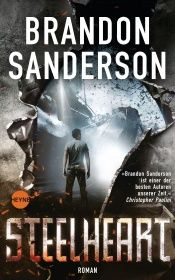 book cover of Steelheart by Brandon Sanderson