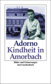 book cover of Kindheit in Amorbach by Theodor W. Adorno