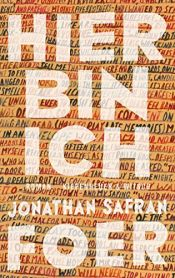 book cover of Hier bin ich by Jonathan Safran Foer