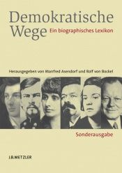 book cover of Demokratische Wege. Ein biographisches Lexikon by Manfred Asendorf
