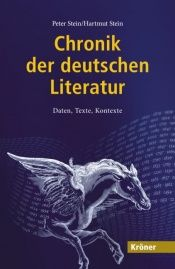 book cover of Chronik der deutschen Literatur: Daten, Texte, Kontexte by Peter Stein