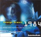 book cover of 1984. 2 CDs by George Orwell