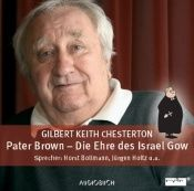 book cover of Pater Brown, Die Ehre des Israel Gow by G. K. Chesterton