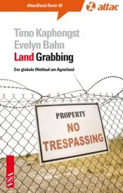 book cover of LandGrabbing: Der globale Wettlauf um Agrarland by Evelyn Bahn
