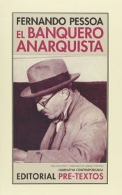 book cover of Den anarkistiske bankier by Fernando Pessoa