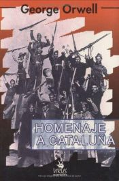 book cover of Homenaje a Cataluña by George Orwell