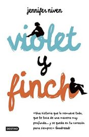 book cover of Violet y Finch by unknown author