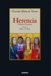 book cover of Herencia by Clorinda Matto de Turner