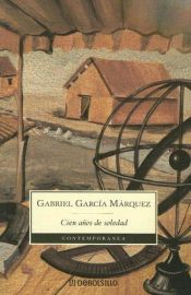 book cover of One Hundred Years of Solitude by Gabriel Garcia Marquez