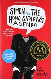 book cover of Simon vs. the Homo Sapiens Agenda by Becky Albertalli