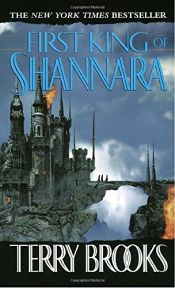 book cover of First King of Shannara by Terry Brooks