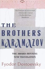 book cover of The Brothers Karamazov by Fyodor Dostoyevsky