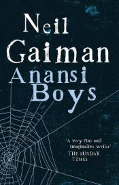book cover of Anansi Boys by Neil Gaiman