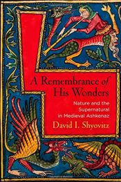 book cover of A Remembrance of His Wonders: Nature and the Supernatural in Medieval Ashkenaz (Jewish Culture and Contexts) by David I. Shyovitz