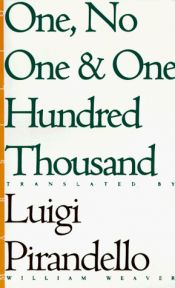 book cover of One, No One and One Hundred Thousand by S. Campailla