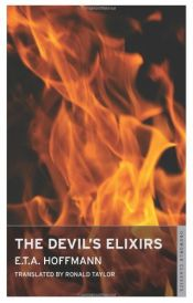 book cover of The Devil's Elixirs by Ernst Theodor Amadeus Hoffmann