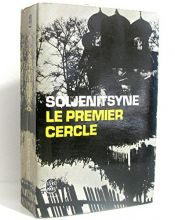 book cover of Le Premier Cercle by Alexandre Soljenitsyne