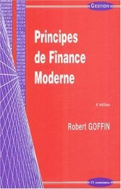book cover of Principes de finance moderne by Robert Goffin