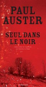 book cover of Seul dans le noir by Paul Auster