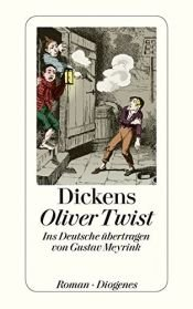 book cover of Oliver Twist by Charles Dickens