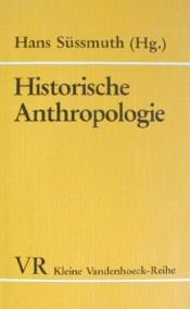 book cover of Historische Anthropologie by Hans Süssmuth