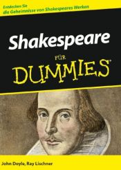 book cover of Shakespeare für Dummies by John Doyle|Ray Lischner