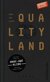 book cover of QualityLand: Roman (dunkle Edition) by Marc-Uwe Kling