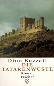 book cover of Die Tatarenwüste by Dino Buzzati