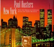 book cover of Paul Austers New York by Gerard de Cortanze