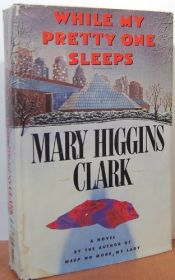 book cover of Mens min elskede sover by Mary Higgins Clark