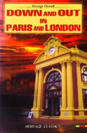 book cover of Down and Out in Paris and London by George Orwell