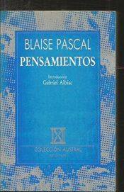 book cover of Pensamientos by Blaise Pascal