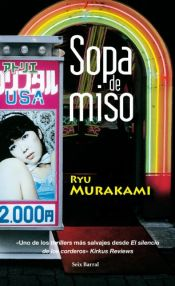 book cover of Sopa de Miso by Ryū Murakami