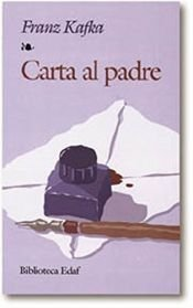 book cover of Carta al padre by Franz Kafka