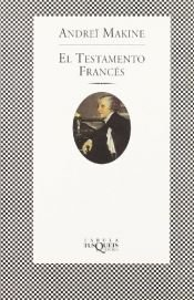 book cover of El testamento frances (Coleccion Andanzas, 284) by Andreï Makine
