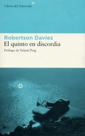 book cover of El quinto en discordia by Robertson Davies