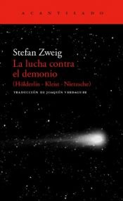 book cover of O combate com o demónio by Stefan Zweig
