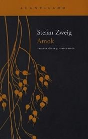 book cover of Amok by Stefan Zweig