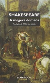 book cover of A Megera Domada by William Shakespeare