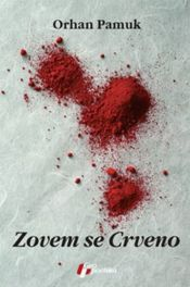book cover of Zovem se crveno by Orhan Pamuk