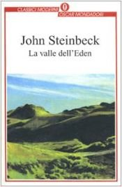 book cover of La valle dell'Eden by John Steinbeck