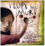 book cover of I lupi nei muri by Dave McKean|Neil Gaiman
