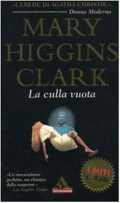 book cover of La culla vuota by Mary Higgins Clark