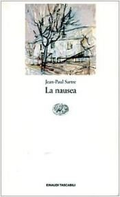 book cover of La nausea by Jean-Paul Sartre