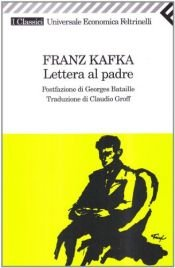 book cover of Lettera al padre by Franz Kafka