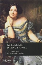 book cover of Intrigo e amore by Friedrich Schiller