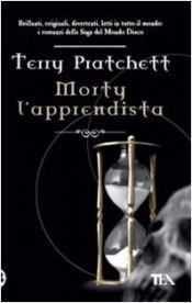 book cover of Morty l'apprendista by Terry Pratchett