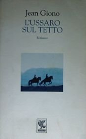 book cover of L'ussaro sul tetto by Jean Giono