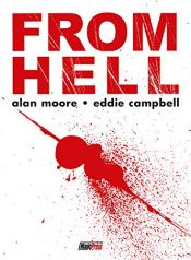 book cover of From Hell by Alan Moore|Eddie Campbell