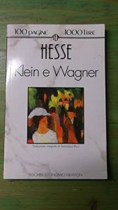 book cover of Klein e Wagner by Hermann Hesse